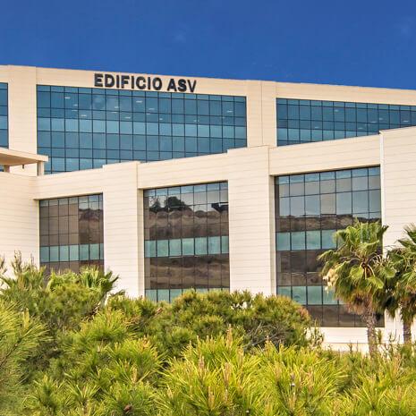 Fachada Edificio GRUPO ASV