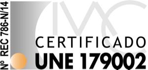 Certificado UNE 179002