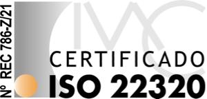 Certificado ISO 22320