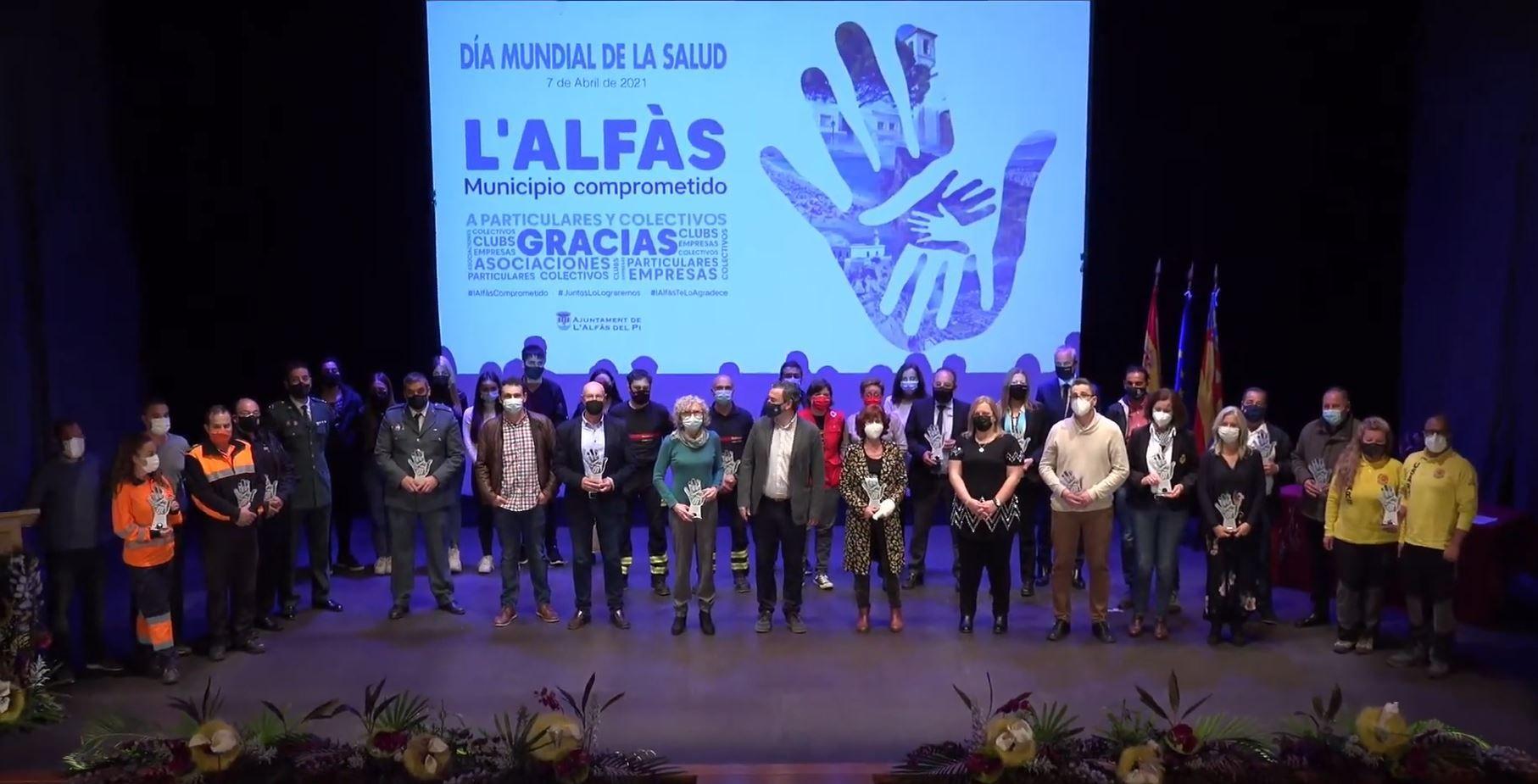 Grupo ASV es homenajeado por su labor en primera fila contra la pandemia del COVID-19