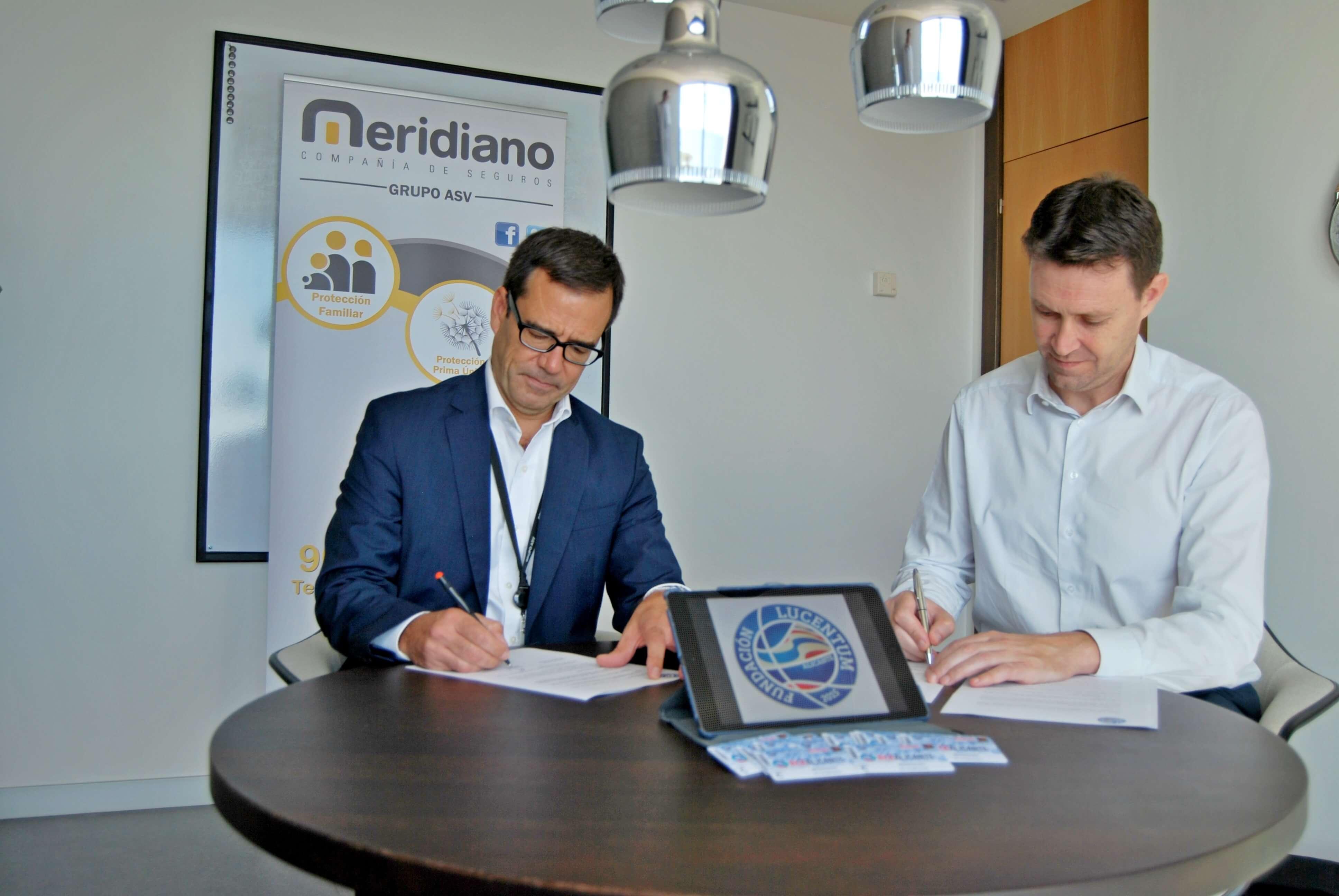 Meridiano renueva su compromiso como patrocinador de la Fundación Lucentum una temporada más