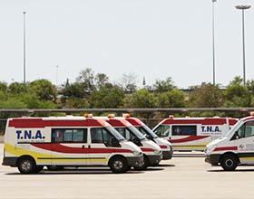 Ambulancias dotadas de última tecnología en las carreteras