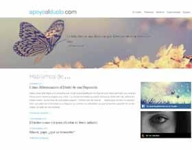 Apoyoalduelo.com estrena diseño convertido en un Blog especializado en Duelo