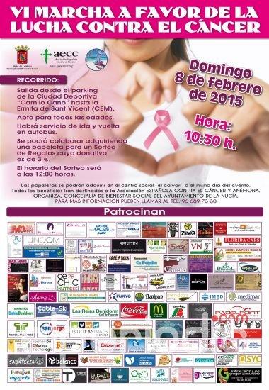 Apoyo a la lucha contra el cáncer en La Nucía