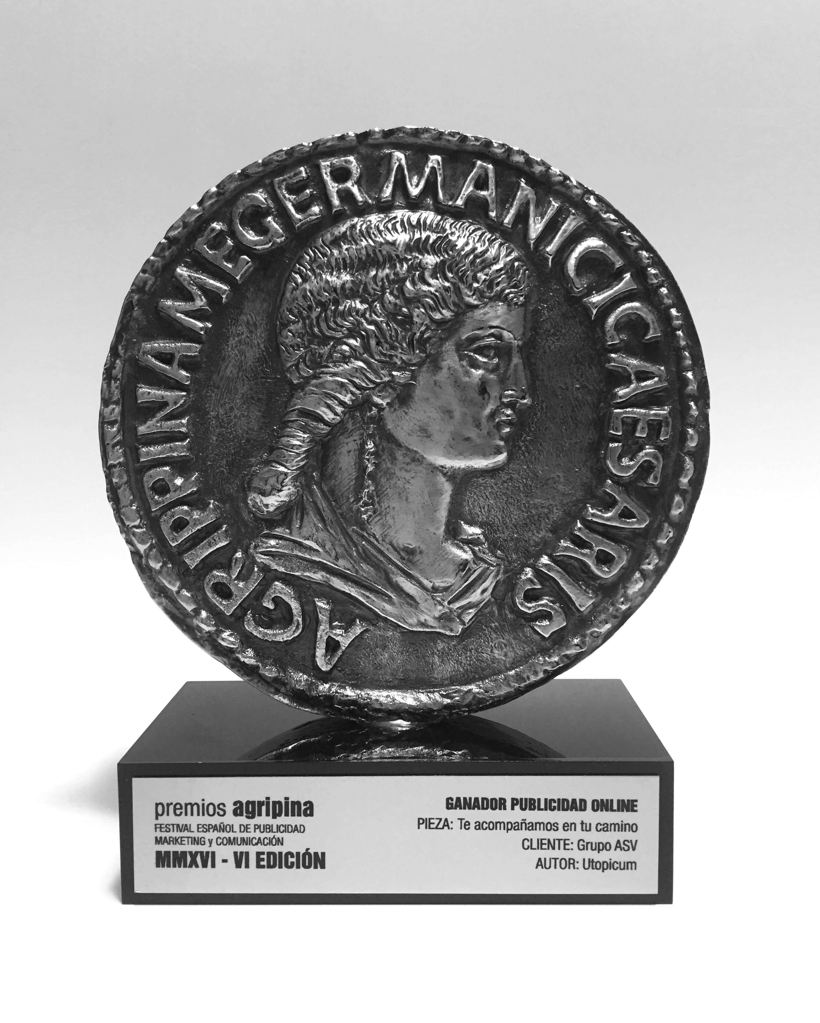 """""""Te acompañamos en tu camino"""" gana un premio Agripina en el Festival Español de Publicidad, Marketing y Comunicación"""